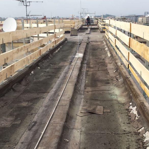 Impermeabilizzazione copertura industriale – Milano